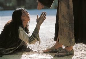 Maria Madalena aos pés de JC