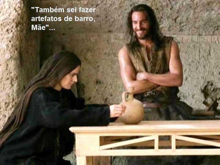 Jesus e Maria em A Paixão de Cristo3