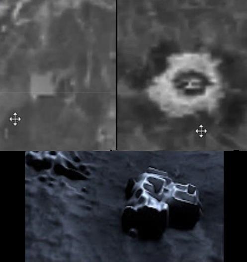 Venus=Torres captadas por Magellan Sonda NASA